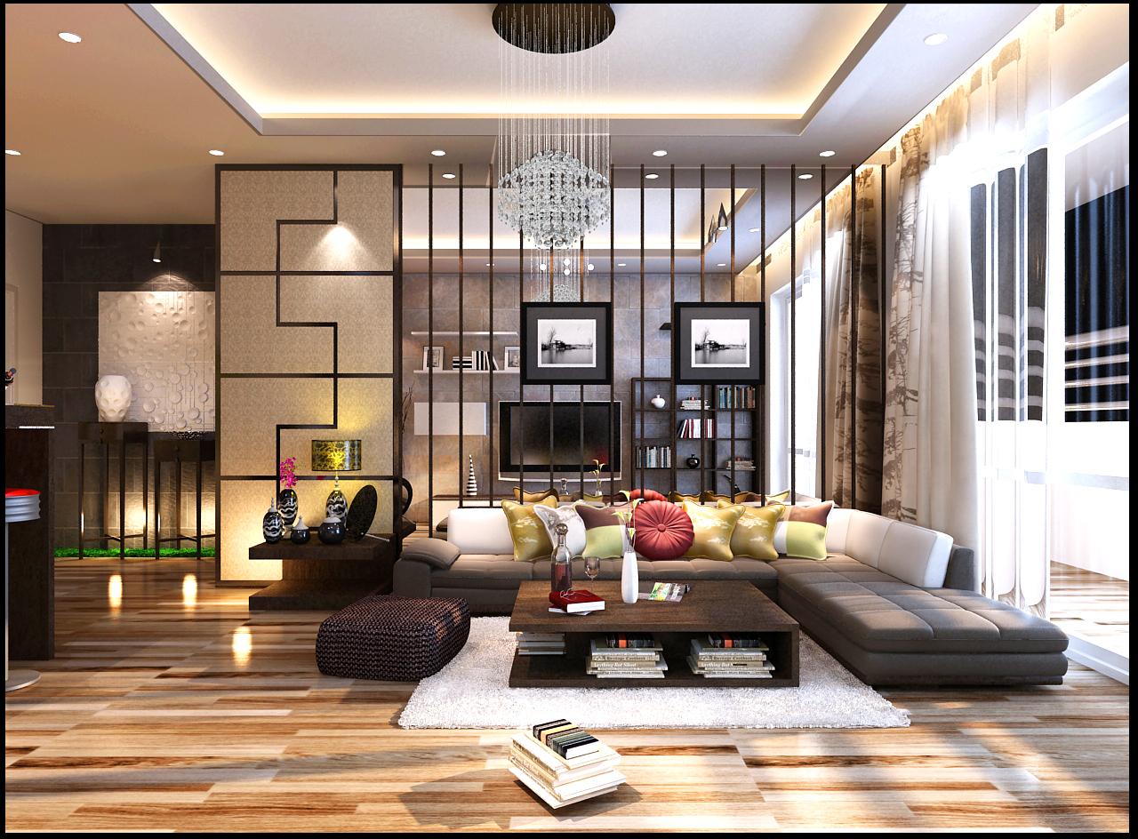 Thiết kế nội thất nhà mẫu Imperia Sky Garden