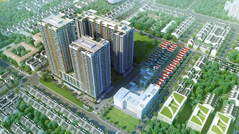 Tổng quan chung cư Imperia Sky Garden Minh Khai
