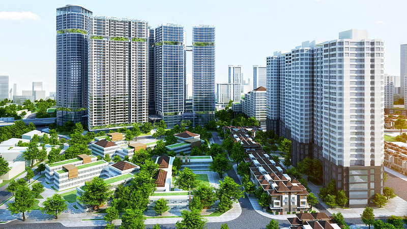 Nhà ở chung cư Hà Nội tăng mạnh