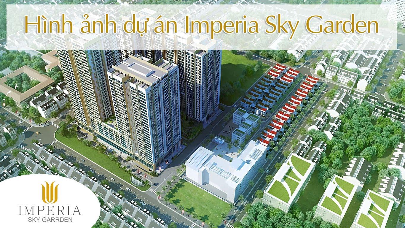 Hình ảnh dự án Imperia Sky Garden
