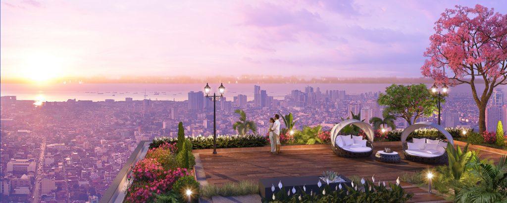 vườn chân mây chung cư Imperia Sky Garden