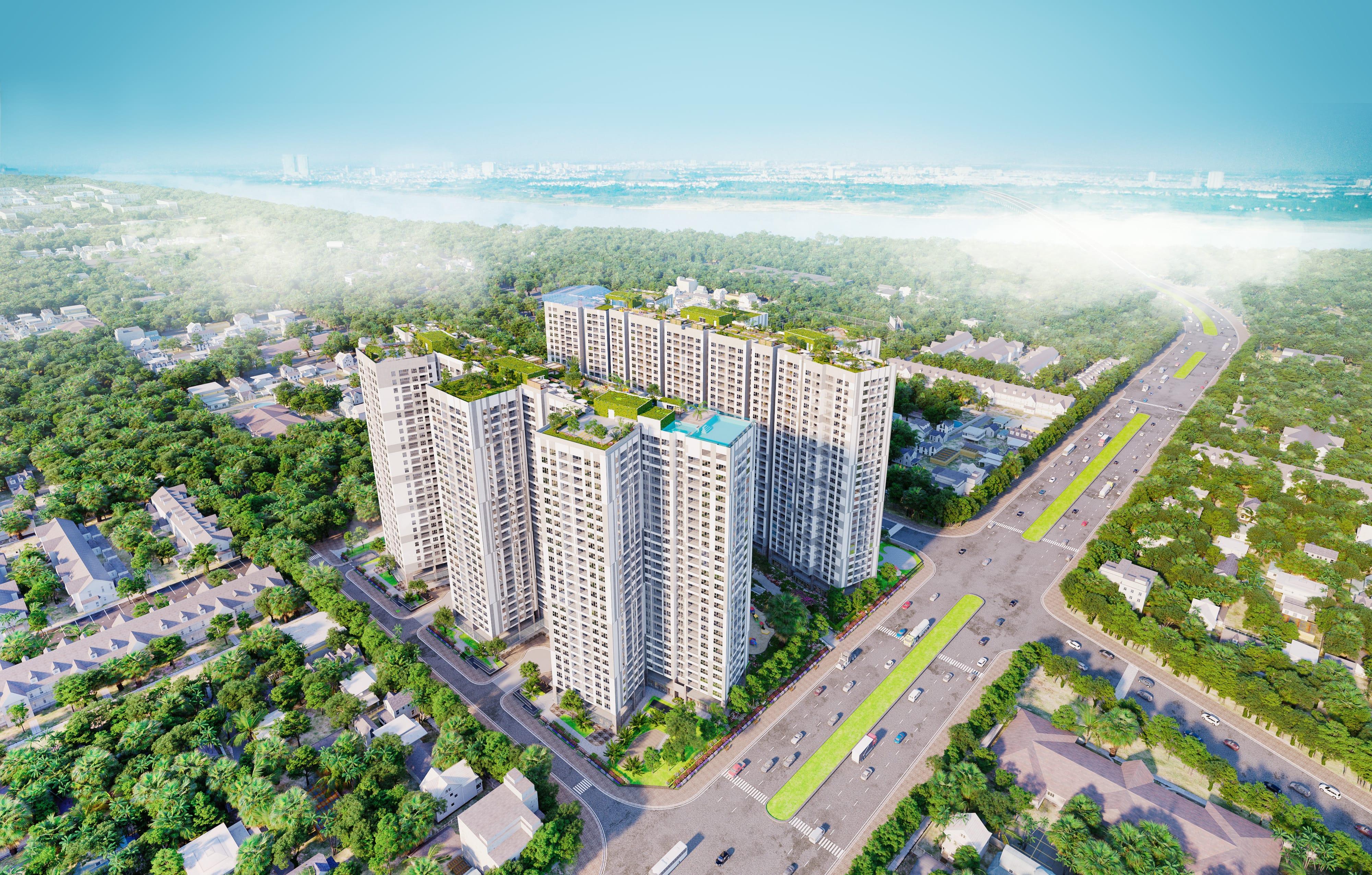 toàn cảnh Imperia Sky Garden 423 Minh Khai