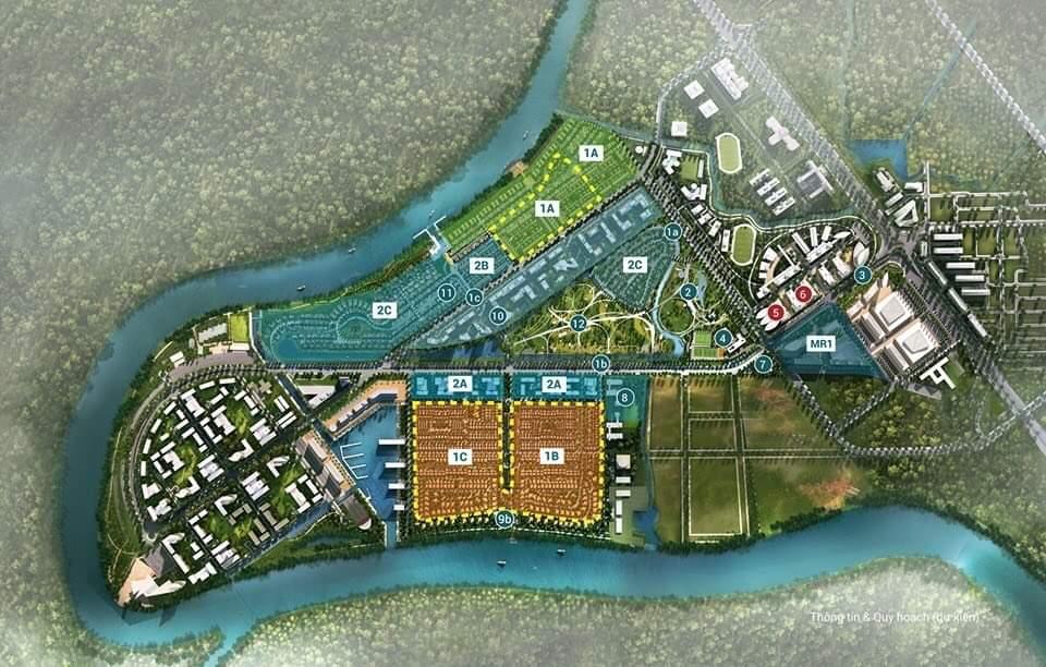 Hình ảnh tổng quan dự án Waterpoint Long An