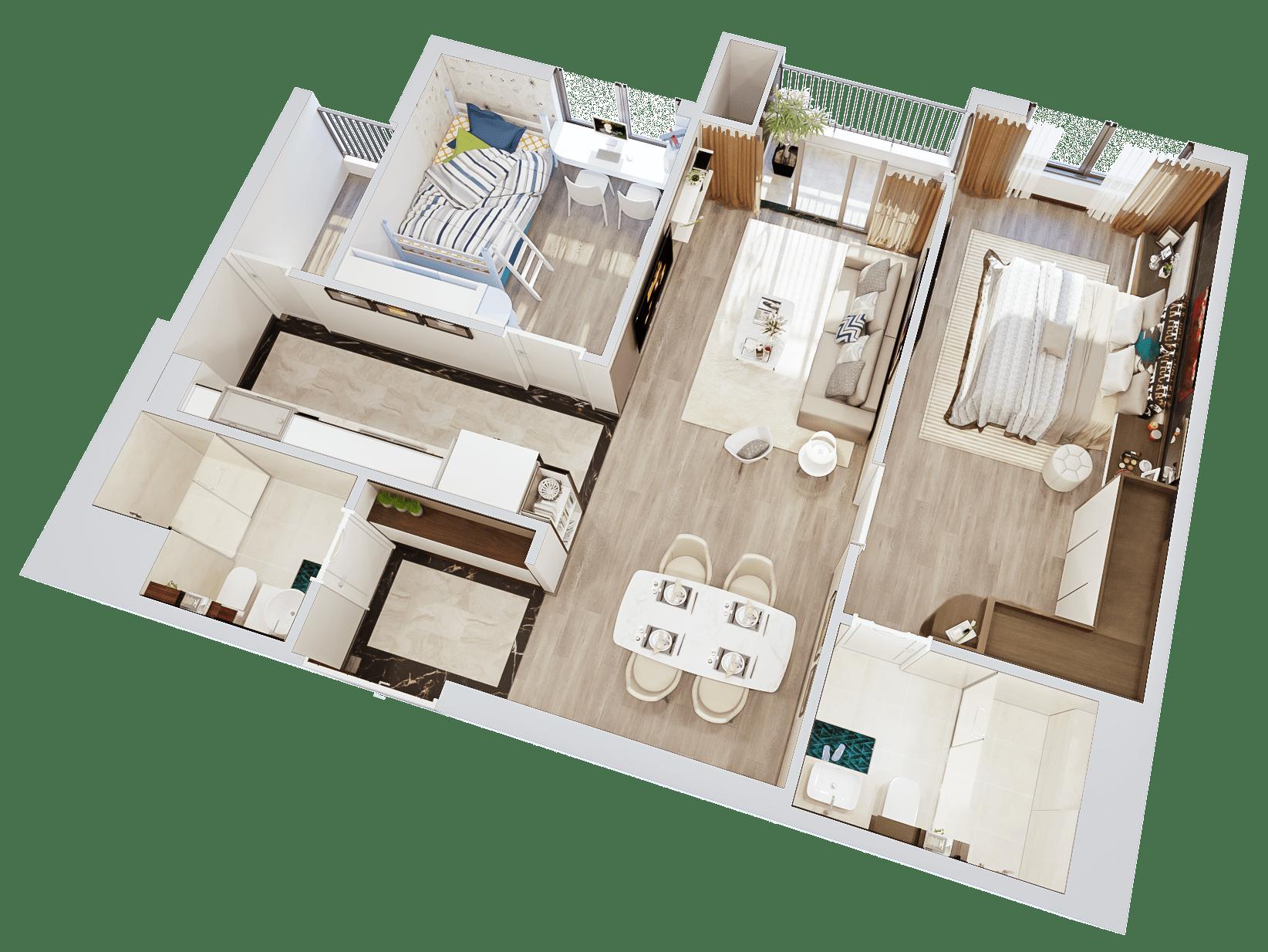 Kết quả hình ảnh cho mặt bằng thiết kế căn hộ imperia sky garden